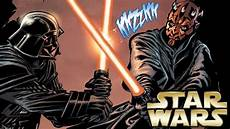 wars darth vader malvorlagen how darth vader fought darth maul in wars legends