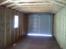 4 foot roll up garage interior pictures rent2ownsheds