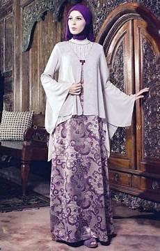 ッ 21 Model Baju Batik Pesta Untuk Wanita Muslim Modern