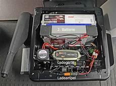 2 batterie vw t5 t6 12v steckdose 230v