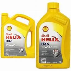 shell helix hx6 10w 40 5 l preisvergleich motor 246 l
