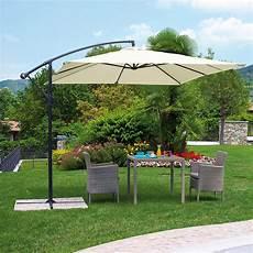 ombrelloni per terrazze ombrellone da giardino firenze in alluminio a manovella