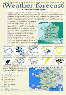 weather listening worksheets 14609 weather forecast esl worksheet by cornelia agnes
