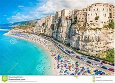 Vue Panoramique De Tropea Calabre Italie Image Stock
