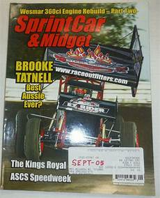 cing car magasine sprint car magazine tatnell royal