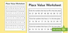 place value number line worksheets 5184 place value worksheet activity sheet 2 digits place value