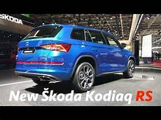 škoda kodiaq rs 2019 look in 4k active info