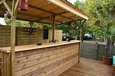 R 233 Cup Et Fait Maison Fabriquer Un Bar En Palettes