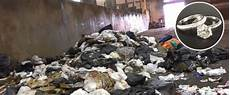 mom digs in 7 tons of trash for missing wedding rings lost
