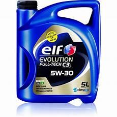 huile evolution tech c3 5w30 essence et diesel 5
