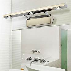 led mirror lights bathroom l waterproof stainless aluminum wall mounted lighting ac85 265v