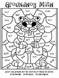 times tables color by number worksheets 16266 times table colouring sheets 1000 ideas about times tables math coloring groundhog day