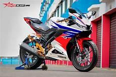 R15 Modifikasi Motogp by Modifikasi Striping All New Yamaha R15 Ala Repsol