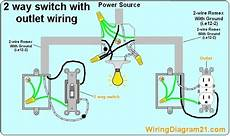 electrical outlet 2 way switch wiring diagram how to wire light with receptacl en 2019