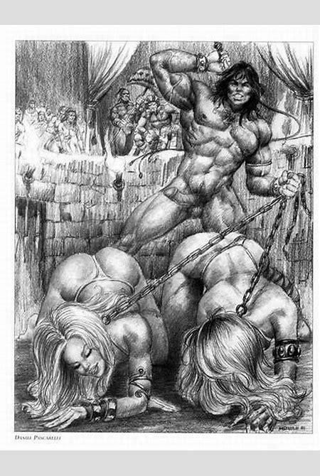 Barbarian Master & Slave Girls - Fetish Artists