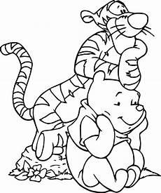 winnie pooh und seine freunde malvorlagen kinderbilder