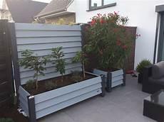 mobile sichtschutz elemente ideal f 252 r terrasse garten