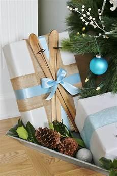 Geschenke Verpacken Weihnachten - creative gift wrapping ideas sand and sisal