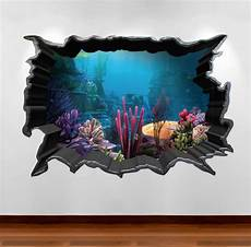 3d sticker 3d aquarium wall sticker wsd80 peachy cards