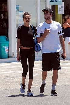 izabel goulart and kevin trapp out shopping in mykonos greece