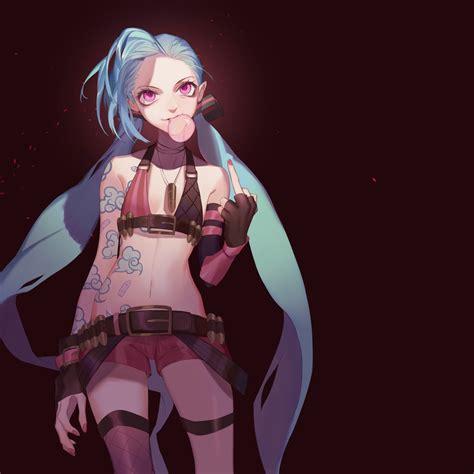 Jinx Anime Character