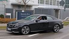 2018 Mercedes E Class Coupe Performing Testing