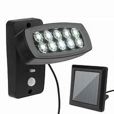 10 led wall solar light pir motion sensor solar l