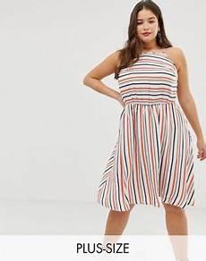 asos shift sundress in stripe new curve stripe sundress asos