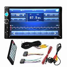 2 din autoradio 7 quot inch lcd 2 din hd car radio mp5 player in dash touch