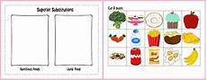 heart health month nutritious foods junk food printable sortin supplyme