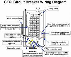 gfi breaker wire diagram square d 2 pole gfci breaker wiring diagram