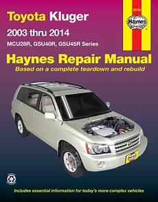 download car manuals pdf free 2003 toyota solara spare parts catalogs kluger haynes manuals