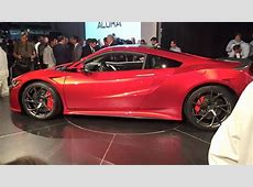 Honda unveils high performance luxury sports car starting