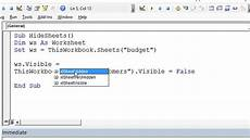 hide multiple sheets in excel vba excelvbaisfun quick tips youtube