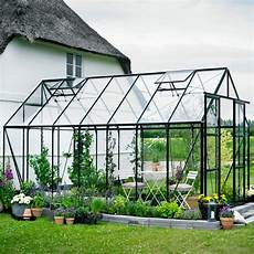 serre de jardin 11 5m 178 verte en verre horticole magnum halls