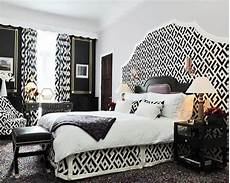gallery white and black bedroom