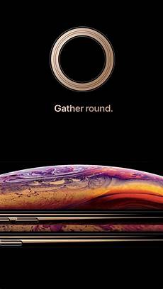 Iphone Xs Live Wallpaper 4k by Wallpaper Iphone Xs Gold Smartphone Hd Apple September
