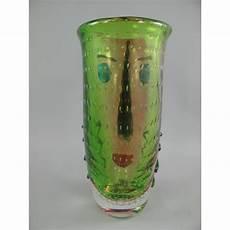 bilder aus glas vase aus glas farbig l 14b 19xh 30cm gosling pokale und