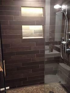 led tape inside shower niche tile ideas pinterest