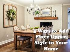 applegate homes 5 ways to add fixer upper style to your home