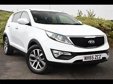 Used Kia Sportage 1 7 Crdi Isg Axis Edition 5dr White 2015