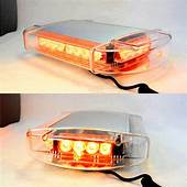 HQRP Warning Emergency Vehicle Amber 24 LED Strobe Light