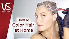 Color My Hair At Home