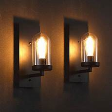 ecopower industrial edison glass 1 light wall sconces simplicity sense and sensibility