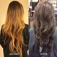 blonde hair color ash light brown over orange color correction ash neutral or cool colors will tone down any orange brassy highlights or