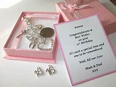 18th 21st 16th silver personalised birthday gift