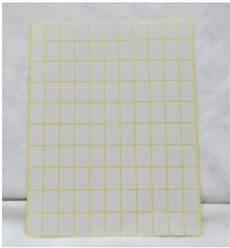 aliexpress com buy 15 sheets 1485 stickers per lot 9 13mm white blank sticker label square