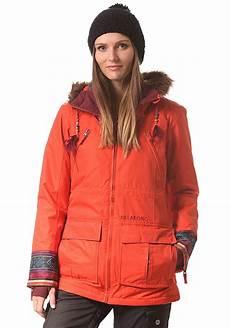 billabong snowboardjacke f 252 r damen orange