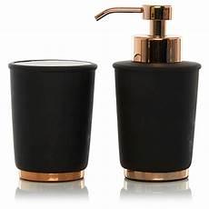 Bathroom Accessories Set Asda by George Home Black Copper Bathroom Accessories