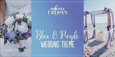 blue and purple colour scheme wedding ideas by colour chwv